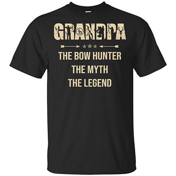Grandpa The Bow Hunter The Myth The Legend Funny Hunting