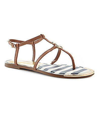 97ebe7d72d36 Gianni Bini Sailor Anchor Flat Sandals from Dillard s