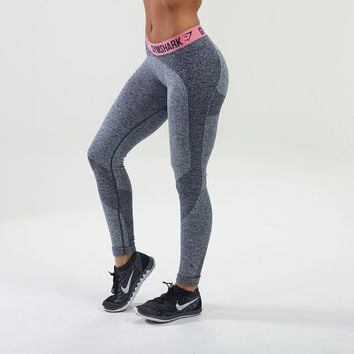 Flex Leggings V2 | Running Tights | Pink | Gymshark