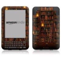 DecalGirl Kindle Skin (Fits Kindle Keyboard) Library (Matte Finish)