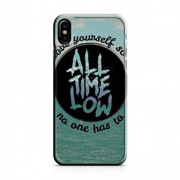 All Time Low Logo iPhone X Case
