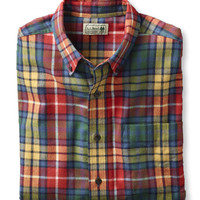 Scotch Plaid Flannel Shirt: Flannel, Chamois and Lined | Free Shipping at L.L.Bean