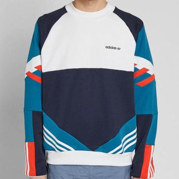 Trendsetter  Adidas  Couple   Fashion Cotton Top Sweater