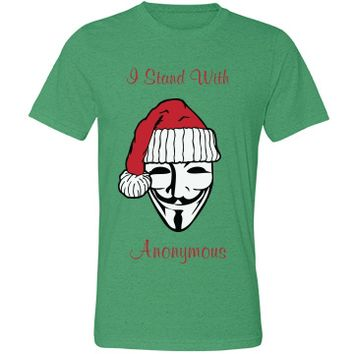 Santa Stands W Anonymous: Shout Progress!