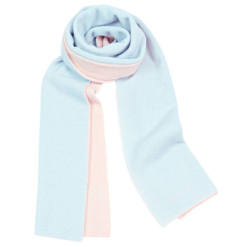 Cashmere Double Layer Duo Tone Scarf