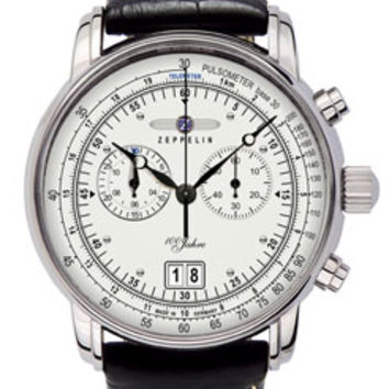 Graf Zeppelin 100 Years Chronograph Watch 7690-1