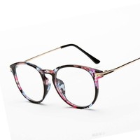 Reading glasses Unisex Metal points eye glasses