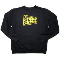 Fool's Gold: Logo Crewneck Sweatshirt - Black