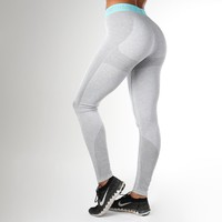 Gymshark Flex Leggings - Light Grey