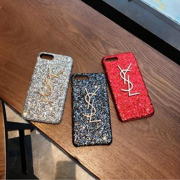 Fashion Luxury Bright star flash powder Phone Case For iPhone 7 7Plus 6 6s Plus 5 5s SE