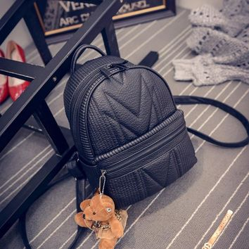 On Sale Comfort Hot Deal Stylish Back To School College Bags Winter Korean Casual Backpack [6582883847]