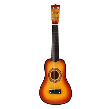 """21"""" 6 String Classical Acoustic Guitar Wooden Musical Instrument  Kid Child Toy"""