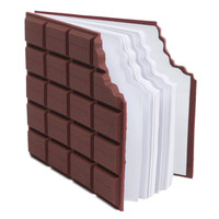 Best Promotion Convenient Creat Stationery Notebook Chocolate Memo Pad DIY Cover Notepad School Gift