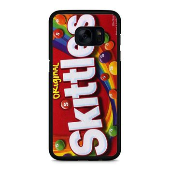 Skittles Cover Samsung Galaxy S7 Edge Case