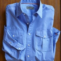 The JLP French Blue Dress Shirt  | J.L. Powell