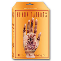 Earth Henna Premium All-Natural Body Painting Kit Yellow One Size For Women 26615660001