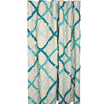 Danica Studio Ruffle Shower Curtain From Dillard S The Style
