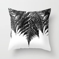 Fern Fringe Throw Pillow by Project M