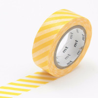 mt Washi Tape Single Stripe Yellow