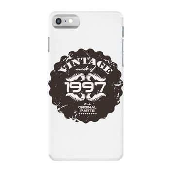 vintage made of 1997 all original parts iPhone 7 Case