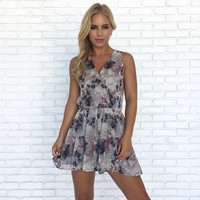 Beauty For Ashes Floral Romper