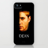 Dean Winchester / Supernatural - Painting Style iPhone Case by ElvisTR | Society6