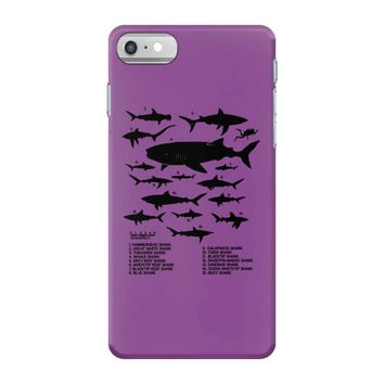 shark chart iPhone 7 Case