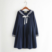 Japanese college style student dress