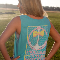 Anchored in the South Tank: Seaside Blue