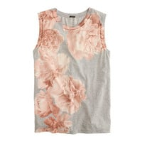 J.Crew Womens Photo Floral Tank Top