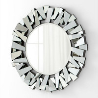 Cyan Design Circle Cityscape Mirror   - 05938