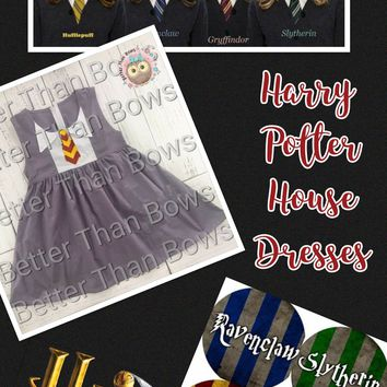 Harry Potter House Dresses*Preorder- 0370*Closes: August 12th at 8pm