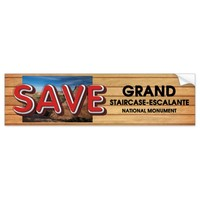 ABH Save Grand Staircase-Escalante Bumper Sticker