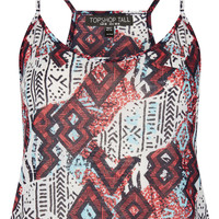 Tall Aztec Print Crop Cami - New In This Week - New In - Topshop USA