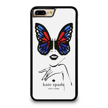 KATE SPADE BUTTERFLY iPhone 4/4S 5/5S/SE 5C 6/6S 7 8 Plus X Case