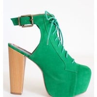 Carolyn Shoe Republic - Green