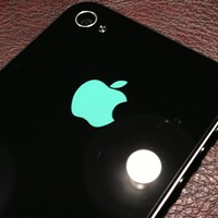 Apple Skin Sticker for iPhone 4 4S 5 5S 5C - Colors