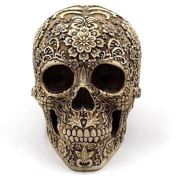 Resin Skull Statues & Sculptures For Your Home or Garden