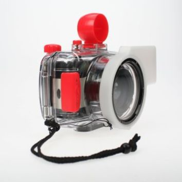 Lomography Fisheye Submarine Case (Clear/Red)