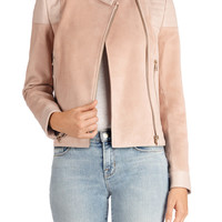 Cardiff Jacket in Rose Cloud