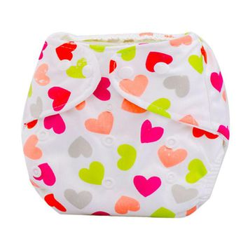 Cute Baby Diapers Newborn Reusable Nappies Cloth Diaper Washable Infants Children Baby Cotton Training Pants Nappy Changing