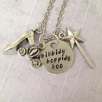 Bippidy Boppidy Boo Necklace - Fairytale Jewelry - Once Upon A Time Jewelry - Princess Jewelry - Cinderella Inspired Jewelry - Fairy Jewery
