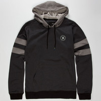 Hurley Block Party Therma-Fit Mens Hoodie Black  In Sizes