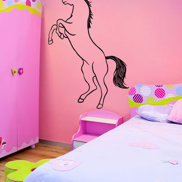 Vinyl Wall Decal Sticker Unicorn #OS_MB1200
