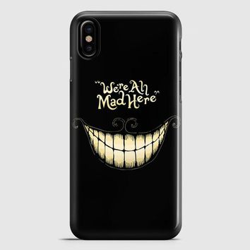 Alice In The Wonderland Case iPhone X Case
