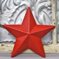 Wall Decor/ Metal Star Wall Decor/ Texas Star Cast Iron Wall Decor/  Outdoor/ Patriotic Star/  Mancave/ Nautical Bathroom/ Seaside/ Beach