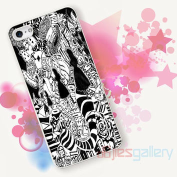 Alice in Wonderland Collage for iPhone 4/4S, iPhone 5/5S, iPhone 5C, iPhone 6 Case - Samsung S3, Samsung S4, Samsung S5 Case