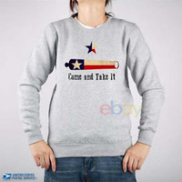 Come and Take It Sweatshirt Come and Take It Unisex Sweater Come Take It S-5XL