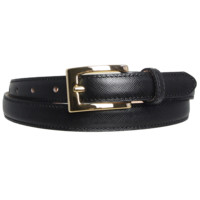 Saffiano Pencil Belt Black