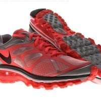 Nike Air Max+ 2012 Womens Running Shoes 487679-103 White/hot Punch/pure Platinum/anthracite (8.5)